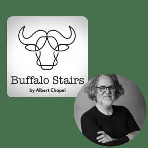 buffalostairs leren trapbekleding