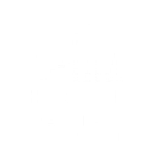 logo thestairsfactory wit